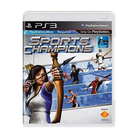 Sports Champions Ps3 - USADO