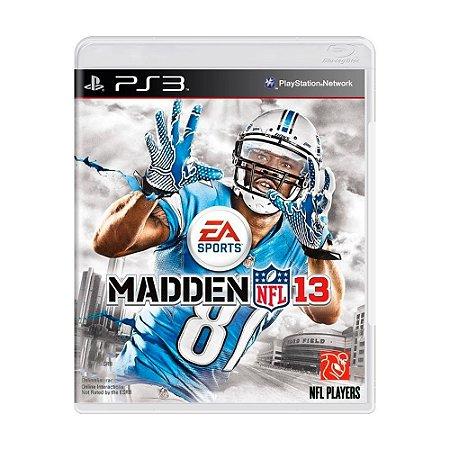 Madden NFL 13 Ps3 - USADO