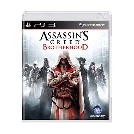 Assassins Creed Brotherhood Ps3 - Usado