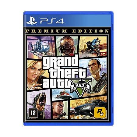 Grand Theft Auto V (GTA 5) PS4 Premium Edition