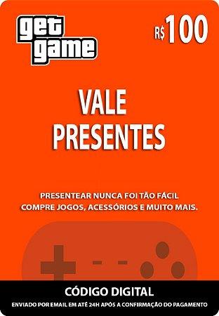 VALE PRESENTES R$100