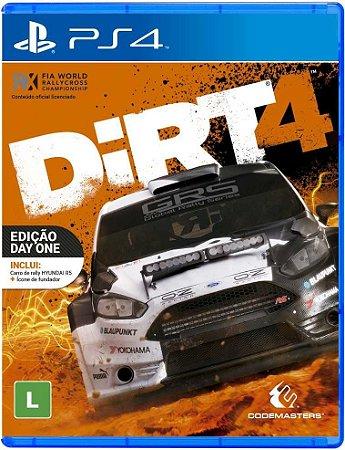 Dirt 4 PS4 - Usado