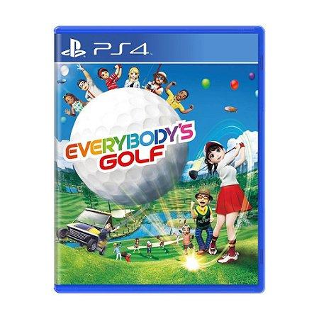 Everybody's Golf PS4 - Usado