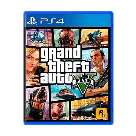 Grand Theft Auto V (GTA 5) PS4 - Usado