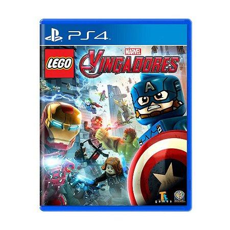 Lego Marvel Vingadores PS4 - Usado