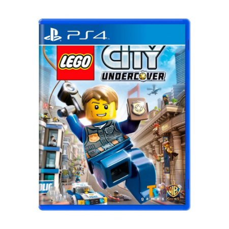 Lego City Undercover PS4 - Usado