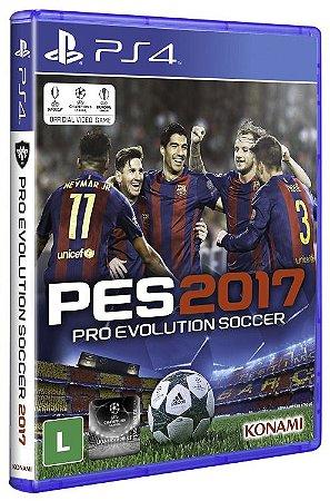 PES 2017 PS4 - Usado