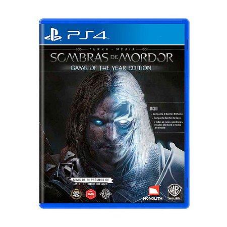Sombras de Mordor GOTY PS4 - Usado