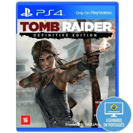 Tomb Raider Definitive Edition PS4 - Usado