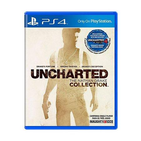 Uncharted: The Nathan Drake Collection PS4 - Usado