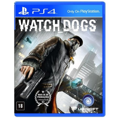 Watch Dogs PS4 - Usado