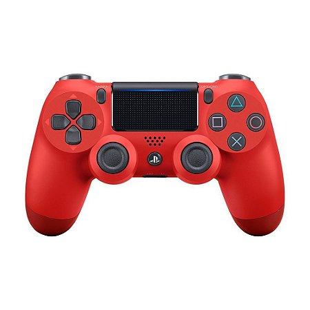 Controle Ps4 Vermelho - Dualchock 4