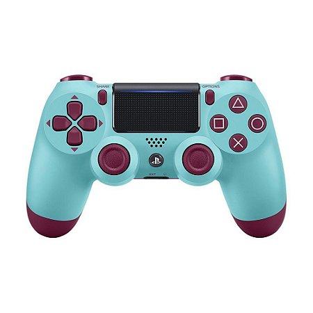 Controle Ps4 Berry Blue - Dualchock 4 Uva do Céu