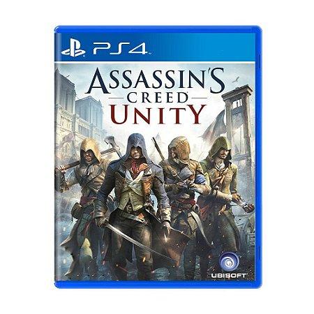 Assassins Creed Unity PS4 - Usado
