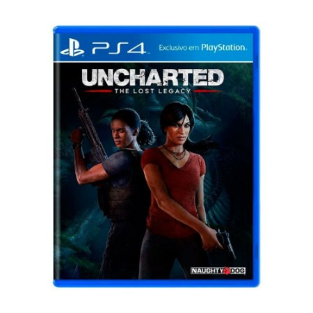 Uncharted The Lost Legacy PS4 - Usado