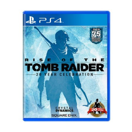 Rise of the Tomb Raider PS4 - Usado
