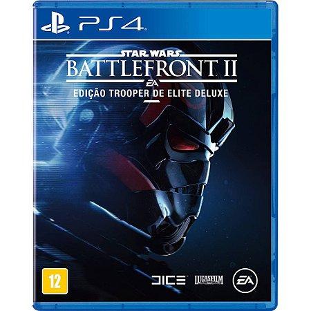 Star Wars Battlefront  2 Edição Trooper de Elite Deluxe PS4