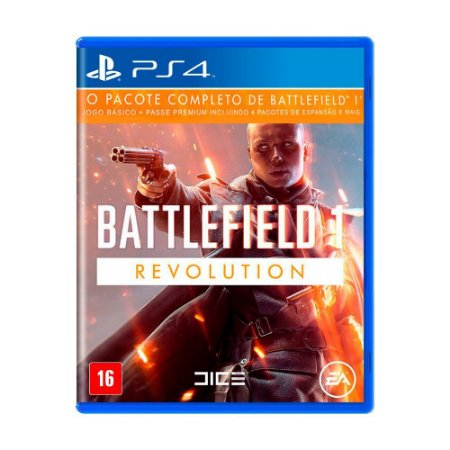 Battlefield 1 Revolution PS4