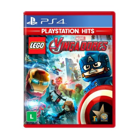 LEGO Marvel Vingadores Avengers PS4