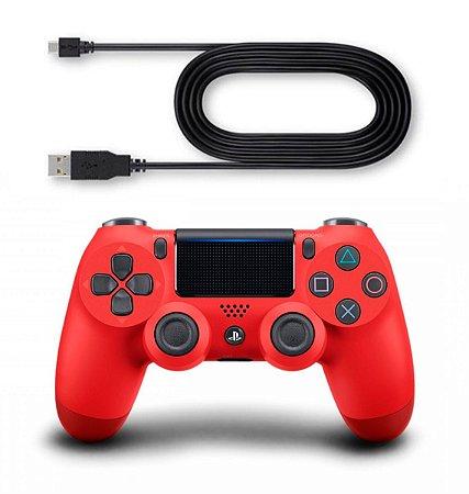 Cabo usb PS4 - Para carregar controle PS4