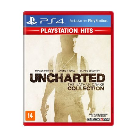 Uncharted: The Nathan Drake Collection PS4 Playstation Hits