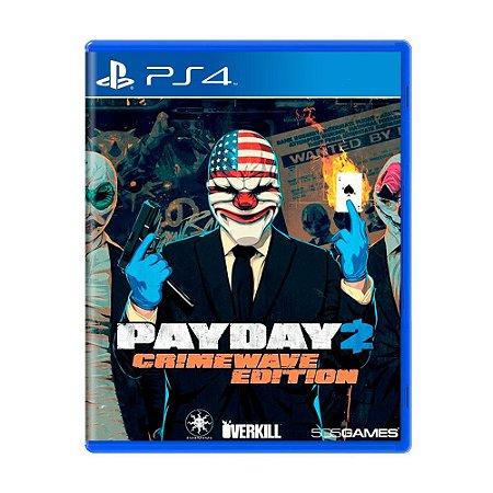 Payday 2 (Crimewave Edition) Ps4 - Usado