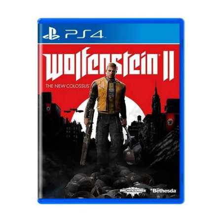 Wolfenstein II: The New Colossus PS4 - Usado