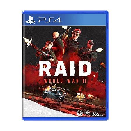 Raid: World War II PS4 - Usado