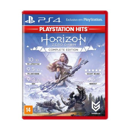Horizon Zero Dawn (Complete Edition) PS4 Playstation Hits