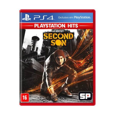 inFAMOUS: Second Son PS4 Playstation Hits