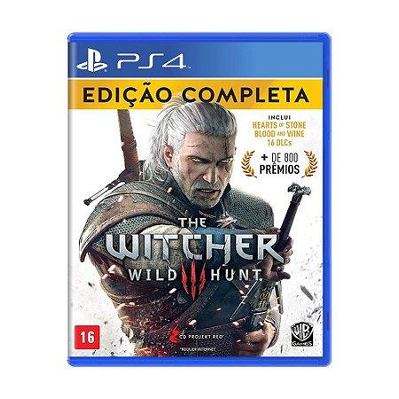 The Witcher 3: Wild Hunt (Edição Completa) PS4
