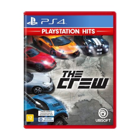 The Crew PS4 Playstation Hits