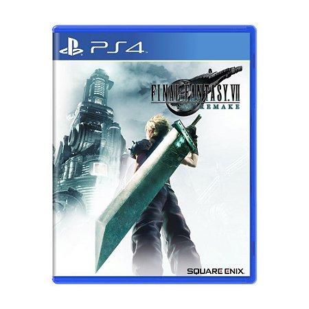 Final Fantasy VII Remake PS4 (PRÉ-VENDA)