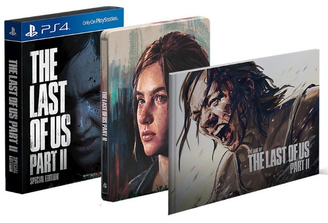 The Last of Us: Part II Edição Especial PS4