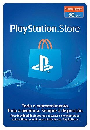 Cartão PSN Brasil R$30