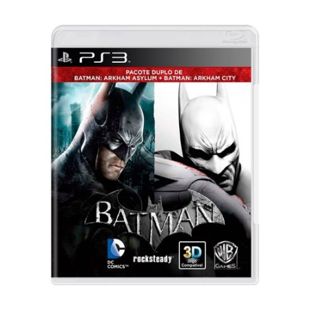 Batman: Arkham Asylum + Batman: Arkham City PS3 - USADO