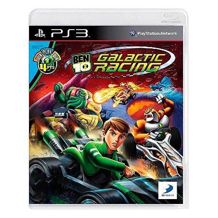 Ben 10: Galactic Racing PS3 - USADO