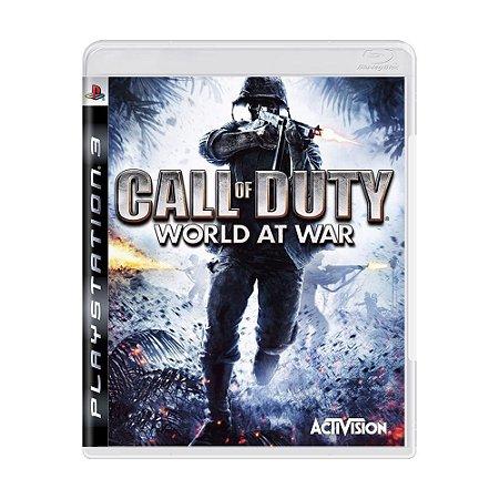 Call of Duty: World at War PS3 - USADO