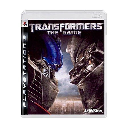 Transformers The Game PS3 - USADO