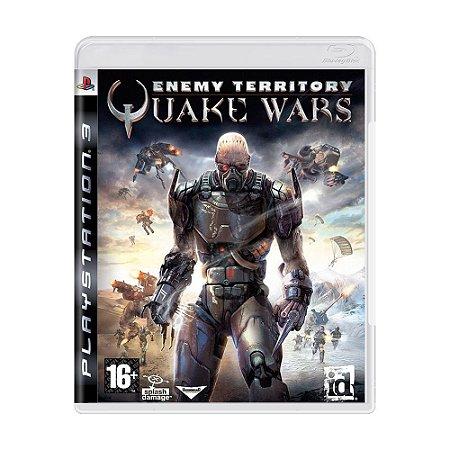 Enemy Territory: Quake Wars PS3 - USADO