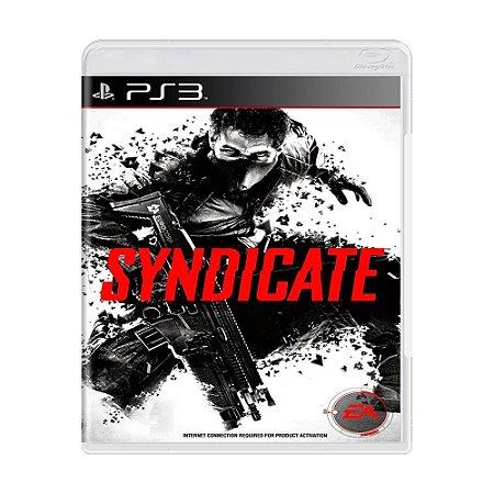 Syndicate PS3 - USADO