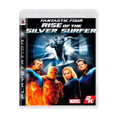 Fantastic Four: Rise of the Silver Surfer PS3 - USADO