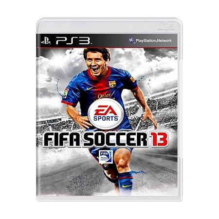 FIFA Soccer 13 PS3 - USADO