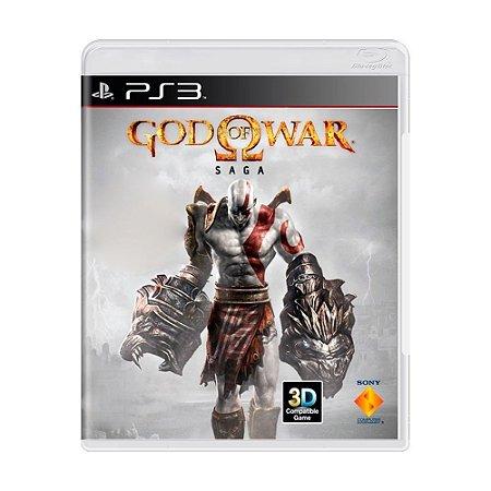 God of War: Saga (3 Jogos) PS3 - USADO