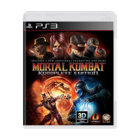 Mortal Kombat (Komplete Edition) PS3 - USADO
