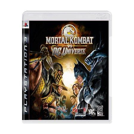 Mortal Kombat vs. DC Universe PS3 - USADO