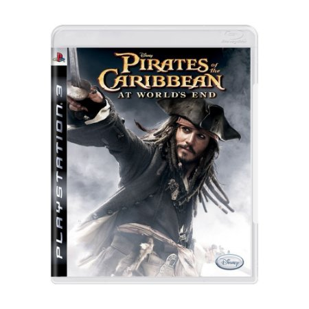 Piratas do Caribe At World's End PS3 - USADO