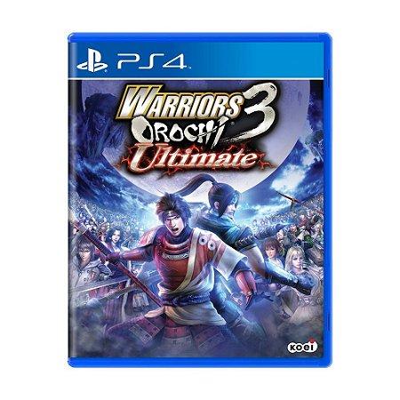Warriors Orochi 3 Ultimate PS4 - USADO