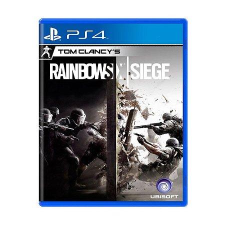 Tom Clancys Raibow Six PS4 - USADO