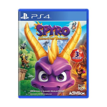 Spyro Reignited Trilogy PS4 - USADO